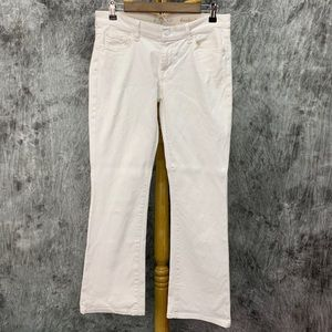 7 for All Mankind Bootcut Jeans Sz 29 White